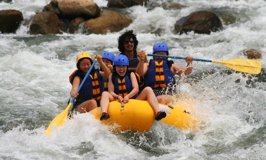 White Water Rafting On Kern River