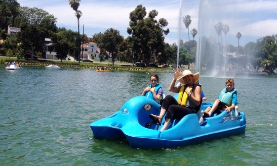 Paddle Boat Rental In Los Angeles, California