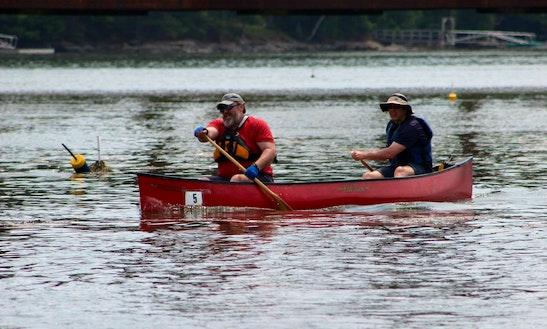 Double Canoe Rentals  In West Bath