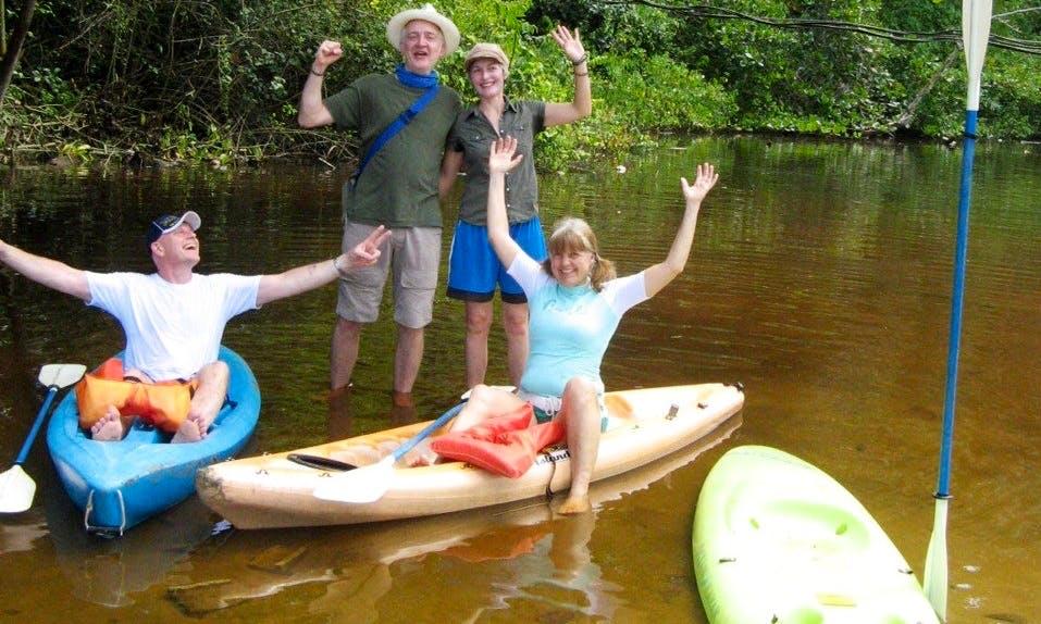 Kayak Rental & Trips in Manzanillo, Costa Rica