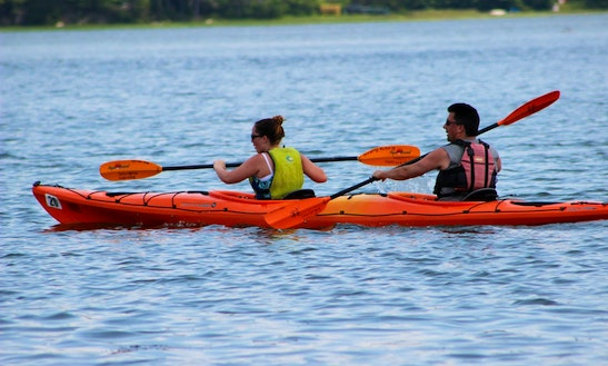 Double Kayak Rentals In West Bath