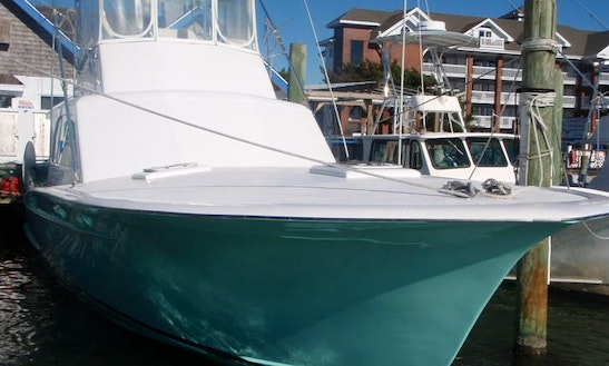 Fishing Charter On 46' Carolina Yacht In Ocracoke, North Carolina