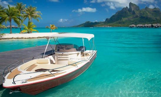 Prestigious Deck Boat Rental In Vaitāpē