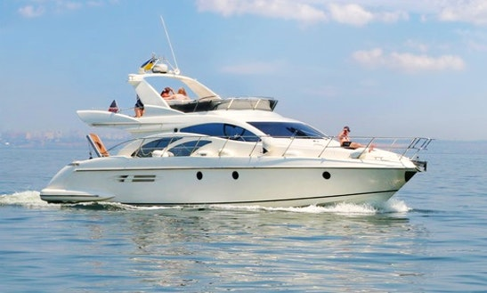 54' Azimut 54 Charter With Captain In Odes'ka City Council