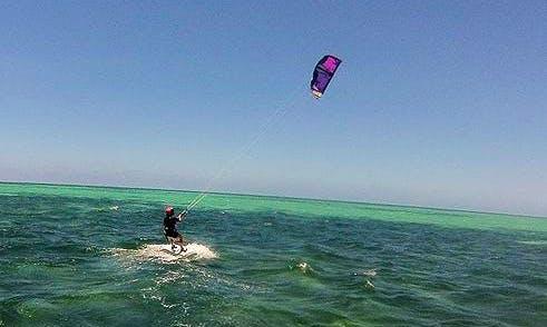 Kiteboarding in Noumea, New Caledonia
