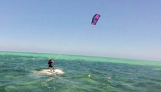 Kiteboarding In Noumea, New Caledonia