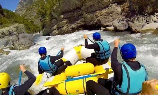 River Rafting In Le Lauzet-ubaye