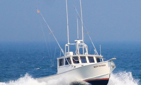 34ft Calvin Beal Sportfisherman Boat Charter In North Hempstead, New York