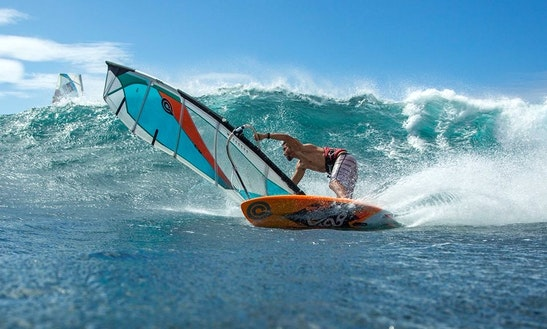 Windsurfing In Saint-cyprien, France