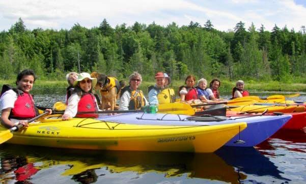 Kayaking Tour On Fourth Lake