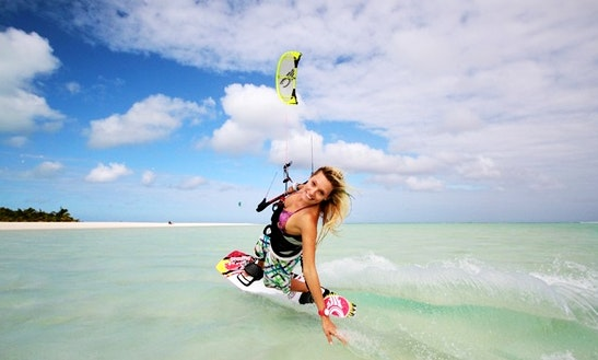 Learn Kiteboarding In Aitutaki
