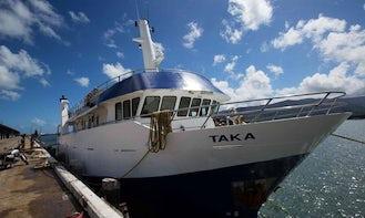 Dive Trip Boat In Florida Islands