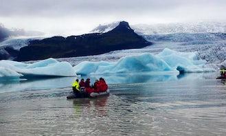Glacier Lagoon Boat Trips in Reykjahlíð