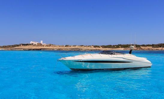 Charter 11 People Riva Rivale Motor Yacht In Eivissa, Spain