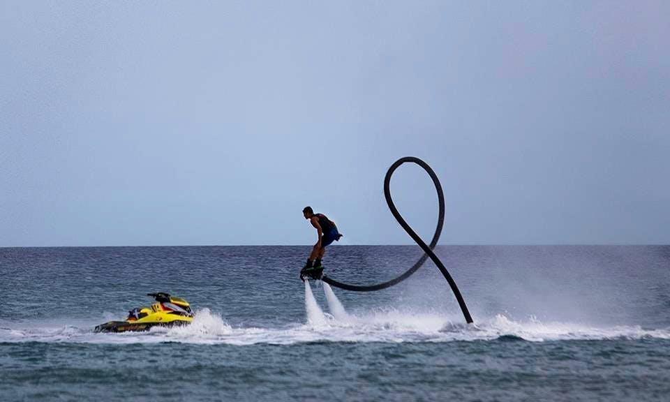 Flyboarding In Cagliari