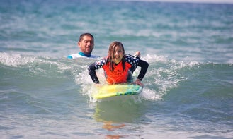 Surf Lessons In Hendaye