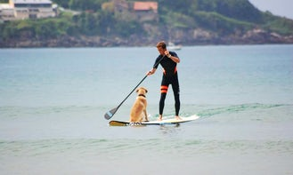 Stand Up Paddleboarding Lessons In Hendaye