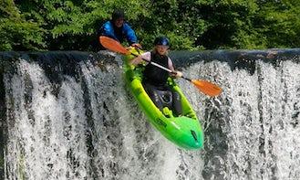 Single Kayak Rental in Ljubljana