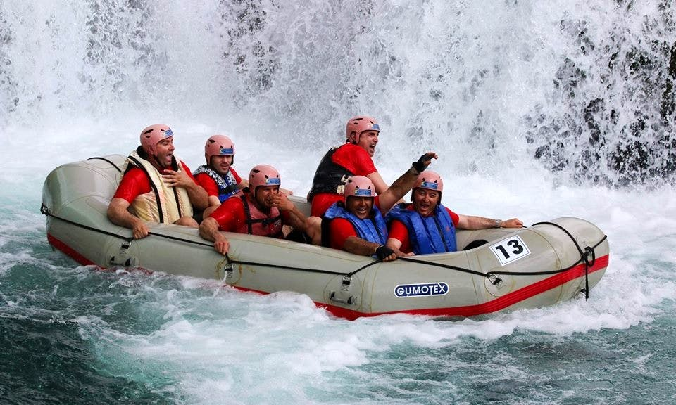 White Water Rafting Trips in Obrovac