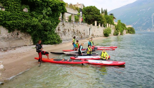 Stand Up Paddle Rental & Lessons In Limone Sul Garda
