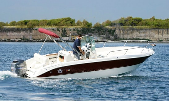 Al Capone 150hp Speed Boat Hire In Kerkira