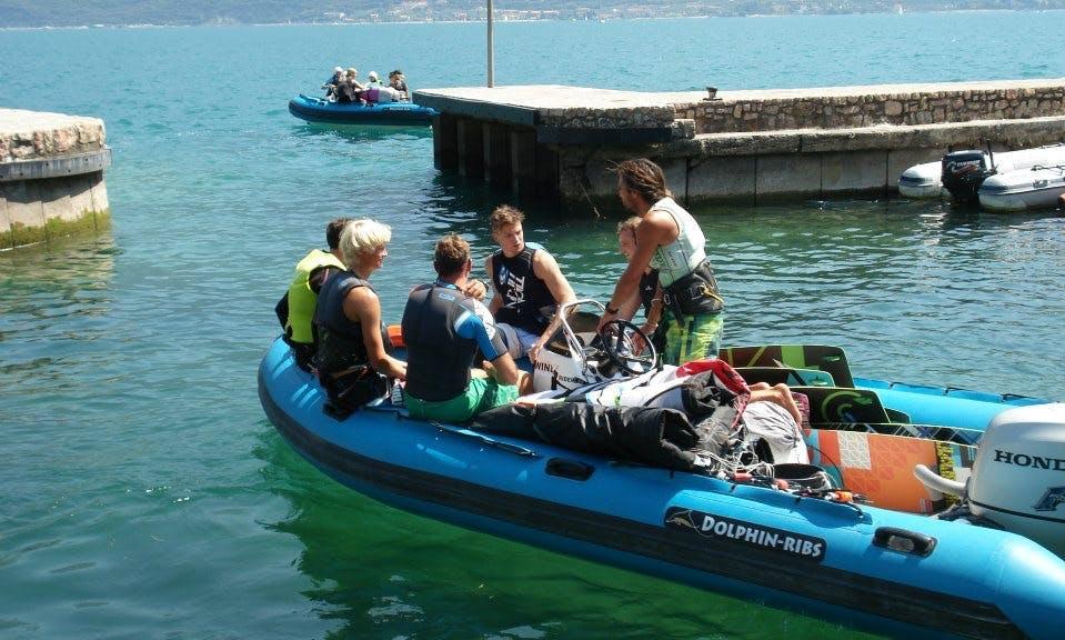 RYA Powerboat Lessons in Limone sul Garda