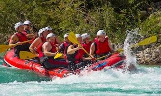 Rapid Rafting Trips in Kobarid