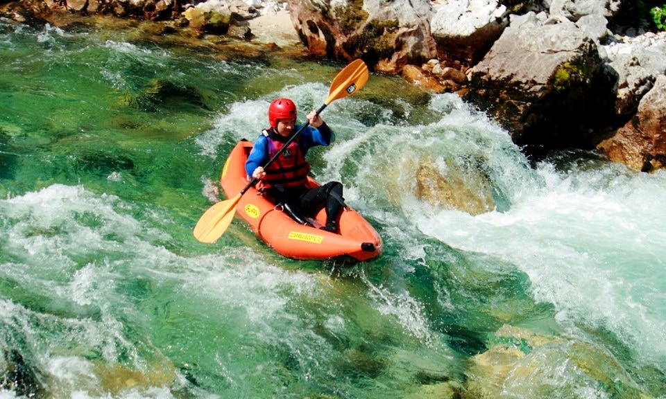 Kayaking Trips in Bovec