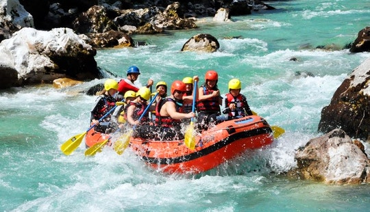 Rafting Trips In Bovec