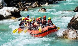 Rafting Trips in Bovec