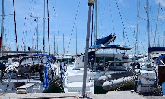 38' Lagoon Sailing Catamaran In Paros