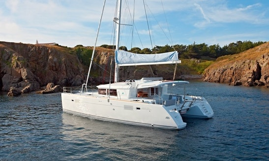 'blue Waves' Lagoon 450 Charter In Olbia