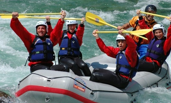 Rafting Trips In Vocca, Italy