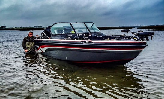 Bass Boat Fishing Charter In Westmeath, Ireland