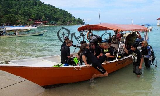 Boat Diving Trips In Kuala Besut