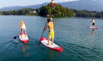 Stand Up Paddleboard Rental in Ljubljana