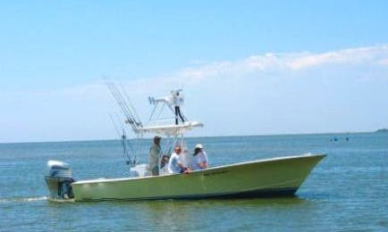 "27' Center Console ""Fingeance"" Fishing Boat in Hatteras, North Carolina"