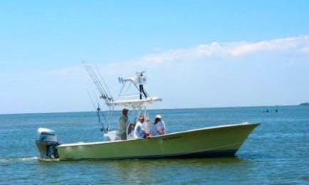 "27' Center Console ""Fingeance"" Fishing Boat in Hatteras, North Carolina"