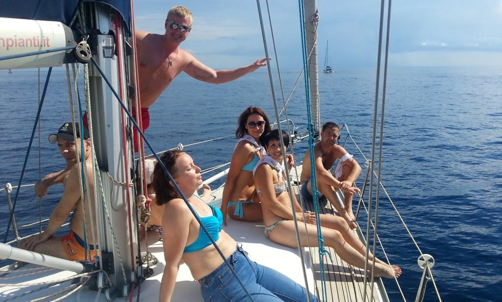 Weekly rent to the Aeolian Island on board of a Sailing Boat