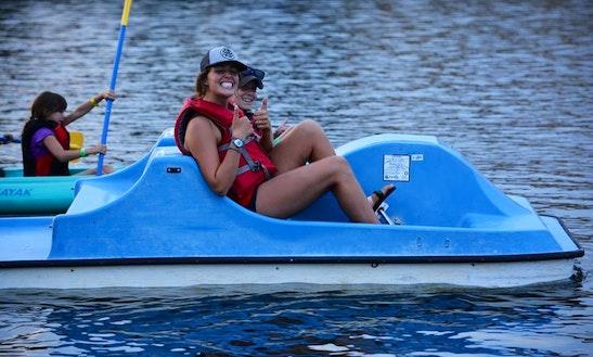 Paddle Boat Rental In Rancho Cordova, California