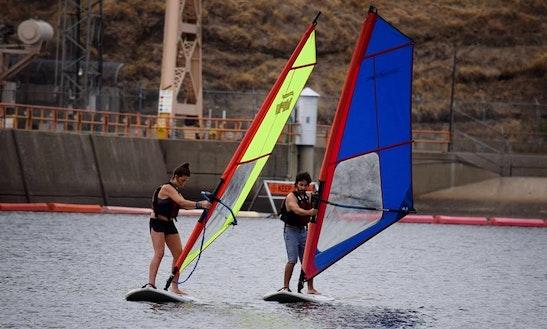 Windsurfing In Rancho Cordova, California