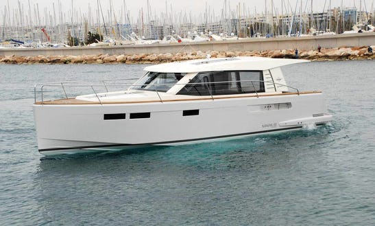 White Fjord 40 Cruiser Yacht Charter In Anatoliki