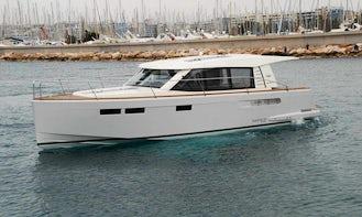 White Fjord 40 Cruiser Motor Yacht Charter in Anatoliki
