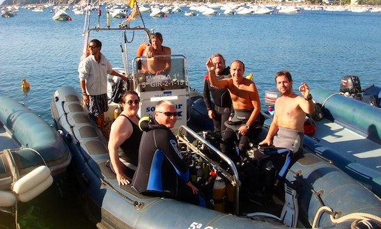 Guided Boat Diving Trips In Cadaques, Spain