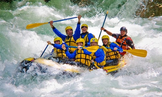 Add A Little Extreme To Your Holidays With The White Water Rafting!