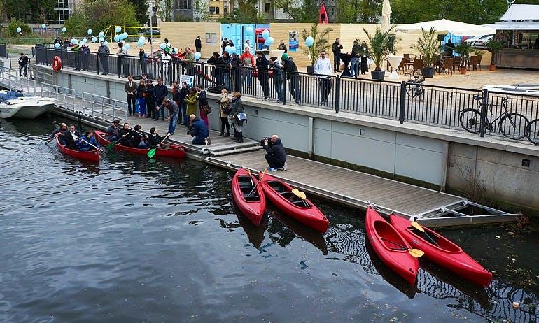 Triple Kayak Hire in Leipzig
