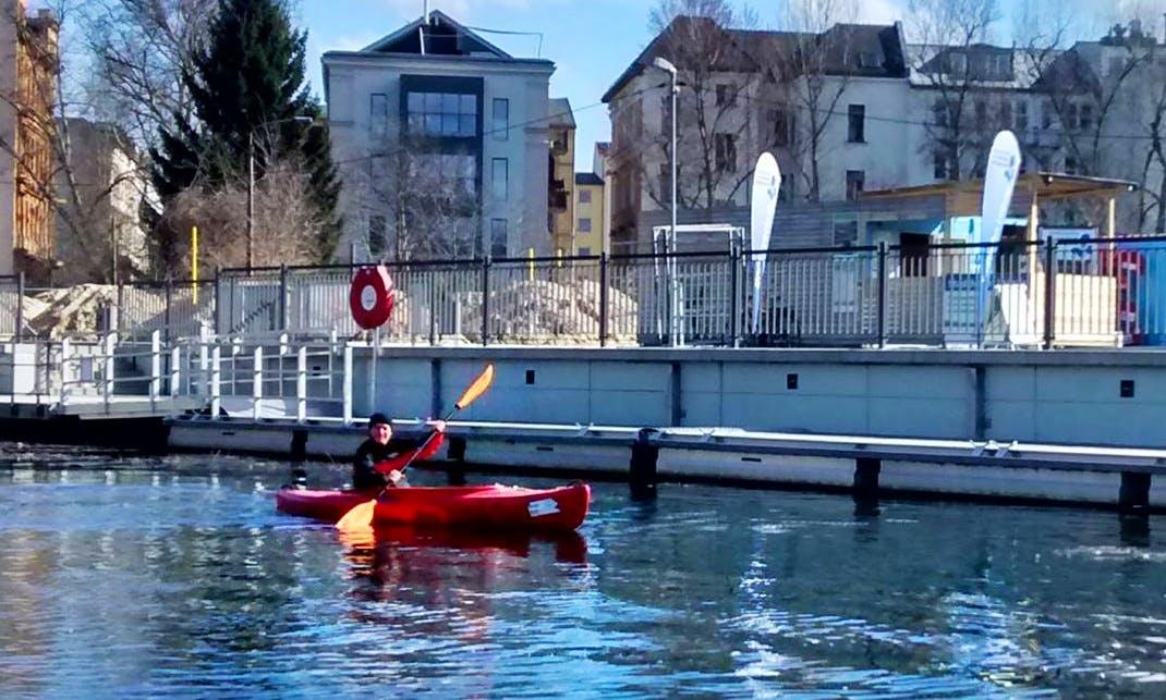 Single Kayak Hire in Leipzig