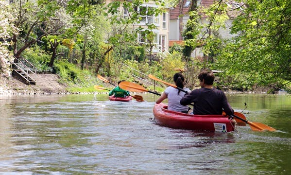 Double Kayak Hire in Leipzig
