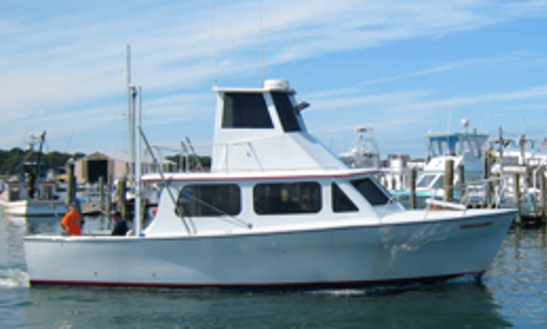 37ft Ensign Sport Fisherman Boat Charter In East Hampton, New York