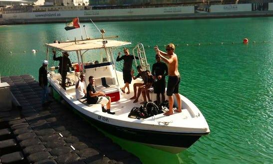 Boat Diving Trip In Abu Dhabi